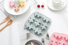 Puzzle Cake Cookie Decorating Tools Shape Silicone Fondant Mould Chocolate Sugar Craft Cake Mold Baking chocolate Silicone Mold hallowe shape silicone chocolate mold for cake decorating fondant mould baking tools resin form kitchen cake tools bakeware