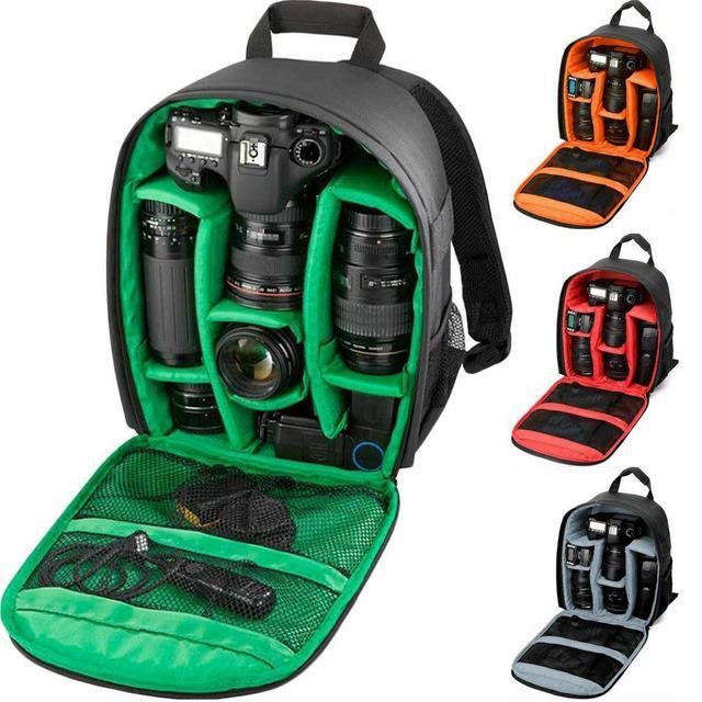 ZK40 Dropshipping Waterdichte Video Digitale Dslr Tas Multi Functionele Camera Rugzak Outdoor Lens Bag Case Voor Nikon/Voor canon