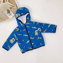baby boy winter clothes long sleeve hooded coat fleece infant jackets