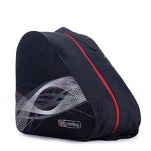 BIG Thick Professional Ice Ski Snow Boots Bag Skate Helmet Portable Carry Shoulder Bag Non-slip For Snowboard Accessories Black недорого