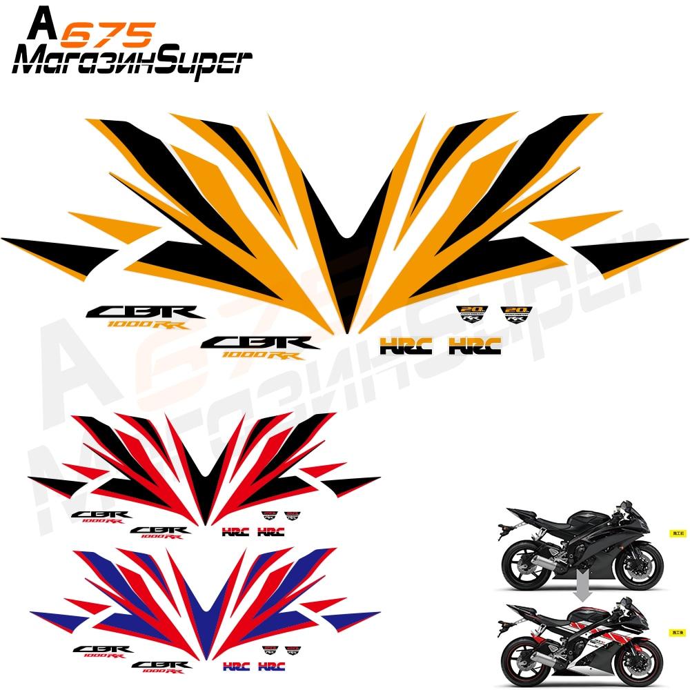 CBR1000 Fairing Sticker Full Kit Fairing Sticker Whole Sticker Motorcycle For Honda CBR1000RR 12-16 CBR 1000 RR 12 13 14 15 16