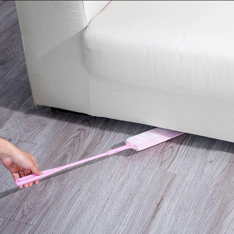 1 مجموعة انفصال غير المنسوجة منظف الغبار الفجوة تنظيف فرشاة نافض الغبار ل أريكة أسفل المنزلية أدوات تنظيف