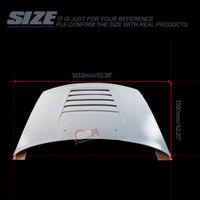 FRP Fiber Glass Unpainted For Nissan R32 Skyline GTR DM Style Hood Car accessories Exterior Body kit