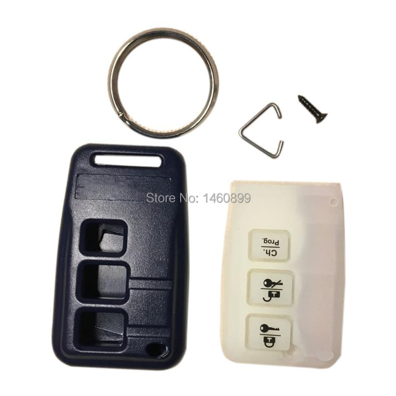 Remote Body Case Keychain Trinket For 2 Way Car Anti-theft Alarm System One Way Remote Control Key Fob Chain Starline B9 B6