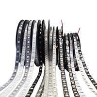 Tiras de luz Led RGB WS2812B WS2812 resistente al agua de forma individual direccionable inteligente RGB Led luz para la decoración del hogar DC5V