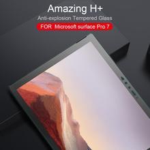 NILLKIN สำหรับ Microsoft Surface Pro 7 NILLKIN 9H + 2.5D กระจกนิรภัยป้องกันหน้าจอสำหรับ Microsoft Surface Pro 7