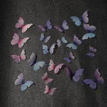 10/20 sztuk przędzy skrzydła motyla Charms zawieszki złącza dla DIY kolczyki ręcznie wykonane materiał rzemiosło akcesoria do wyrobu biżuterii