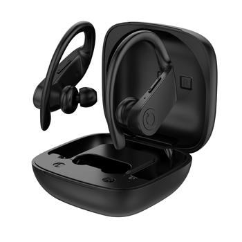 Słuchawki sportowe z bluetooth 5 0 słuchawki bezprzewodowe słuchawki do biegania TWS sportowe słuchawki z haczykiem na ucho IPX6 wodoodporne słuchawki douszne tanie i dobre opinie shine-tale Dynamiczny wireless Zaczep na ucho 120±3dBdB 0Nonem Do Gier Wideo Wspólna Słuchawkowe Dla Telefonu komórkowego