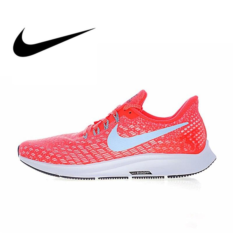 Nike Air Zoom Pegasus 35 chaussures de course respirantes pour hommes baskets de plein Air 2019 nouveauté chaussures de Sport design Orange 942851