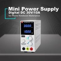 30 V/10A デジタルミニ DC 電源電流ボルトディスプレイ調整可能なスイッチング携帯電話ノート Pc メンテナンス -