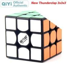 QiYi The New Thunderclap 3x3x3 Magic Cube MoFangGe 3x3 Speed Twisty Puzzle Brain Teaser Challenging Intelligence Educational Toy 3x3x3 brain teaser magic iq cube