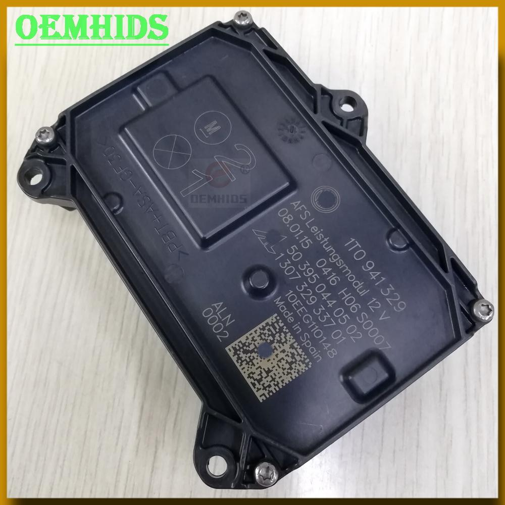 1t0941329 1t0941329a afs leistungsmodul farol unidade de controle usado oemhids originais lastro para cc 130732933701 130732933203