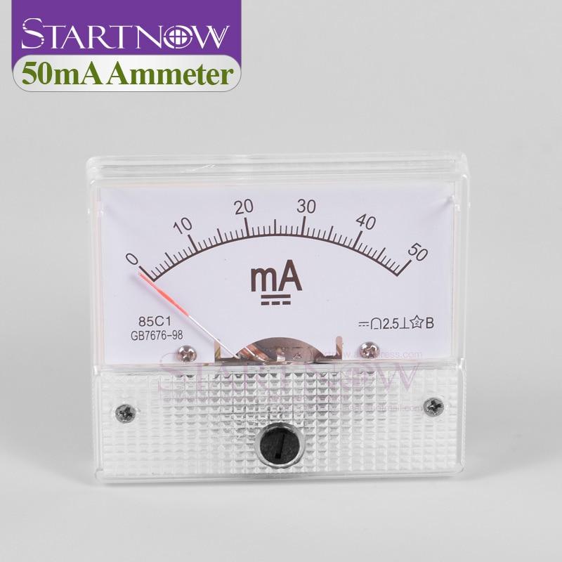 1Pcs Nouveau 85C1 DC 0-100uA Analog Panel Meter Ampèremètre Gauge