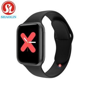 Image 3 - Reloj inteligente PK IWO 12 Pro, reloj inteligente deportivo con control del ritmo cardíaco, Bluetooth, 44mm, para Apple Watch, iOS, iphone y Android
