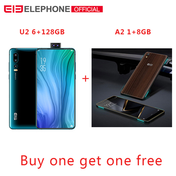 """Elephone U2 16MP Pop Up Camera Mobile phone Android 9.0 MT6771T Octa Core 6GB+128G 6.26"""" FHD+ Screen Face ID 4G LTE Smartphone 1"""