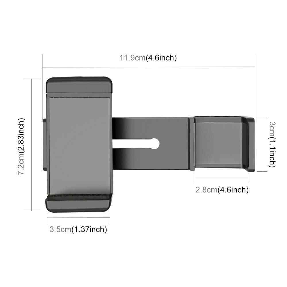 Standard 1/4 pouces 56-85mm large support pour téléphone pince pour DJI OSMO poche accessoires téléphone Extension support de montage à dégagement rapide