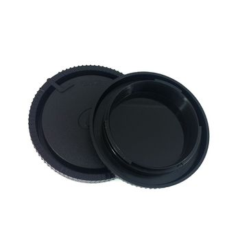 Plastic Rear Back Lens Cover Camera Front Body Cap for Sony Alpha Minolta DSLR MA Mount Camera Lens Accessories image
