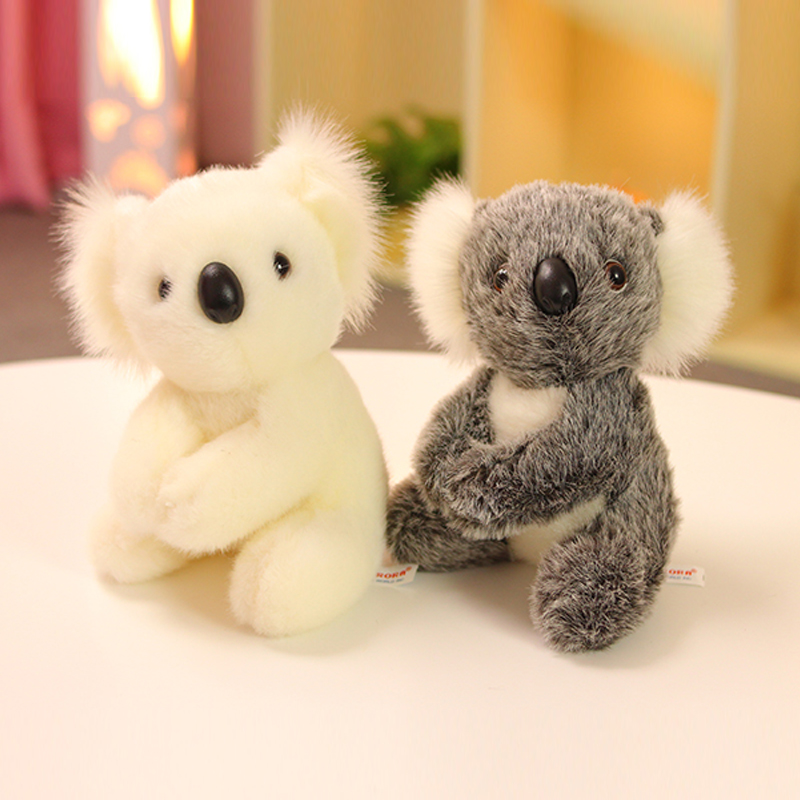 1pc 13/17CM Cute Australia Koala Plush Toys Kawaii Mini Animal Koala Dolls Super Cute Stuffed Toy Children Baby Birthday Gifts