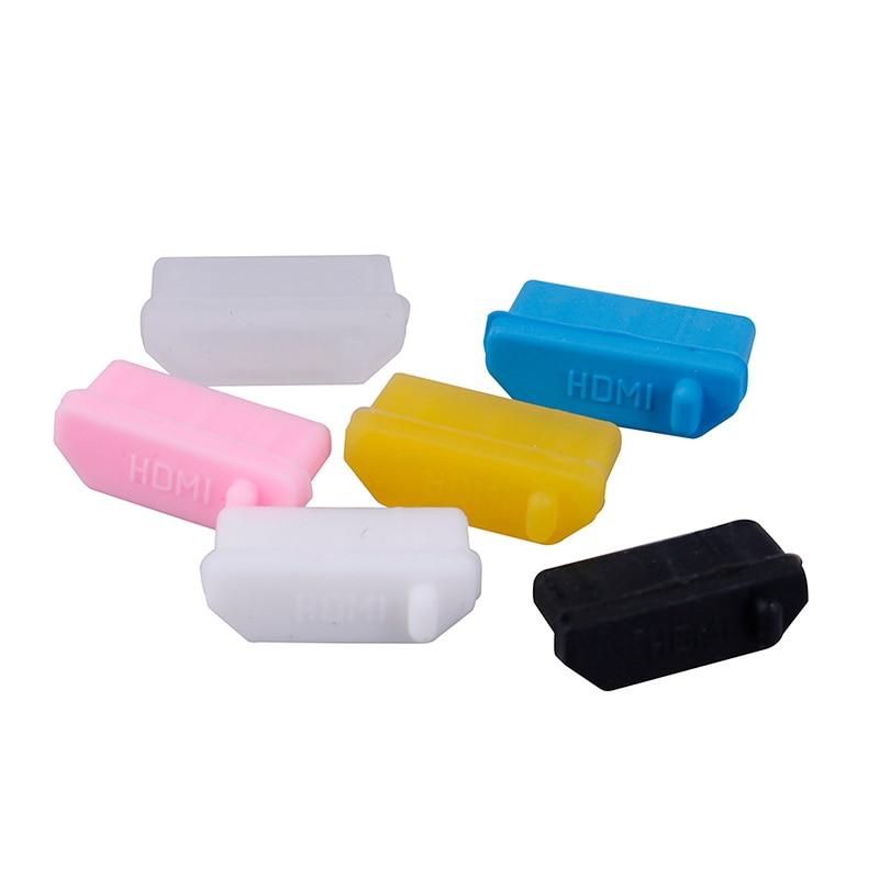 10 шт./упак. силиконовый противопыльная заглушка фиксаторы уход за кожей лица маска Универсальный пыле USB Порты и разъёмы HDMI Интерфейс Крышка...