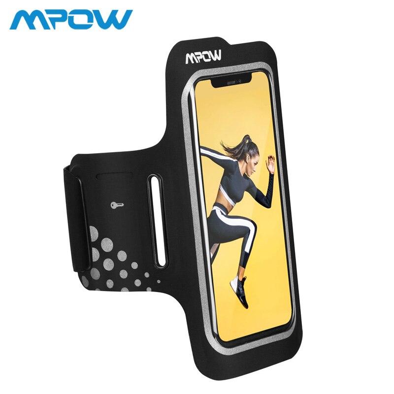Mpow Sport Armband Bis zu 6,2 zoll Für iPhone XS XR X 8 7 6S Verstellbaren Riemen Kopfhörer/ karte/Schlüssel Tasche Arm Band Gürtel Fall Für Lauf