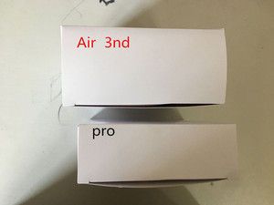 1PCS Air 3 Pro Wireless Earphones Bluetooth Headphones With Charger Box TWS Headsets GPS change Name With Valid Serial Number