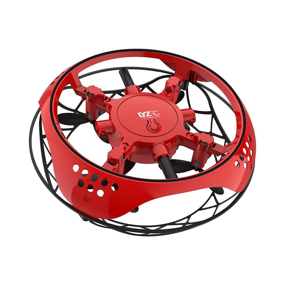 Infrared Sensing Control RC Quadcopter Induction Altitude Hold Mini UFO Drone Intelligent Induction Cool LED Aircraft Kid Gift