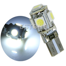 1 PC T10 5-SMD 5050 Interior Lampu LED Wedge W5W 194 168 Putih(China)