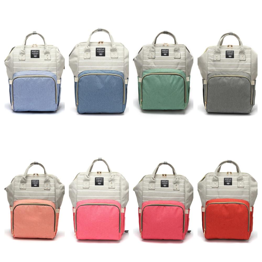 Multifunction Baby Diaper Bag Waterproof Mommy Handbag Large Capacity Maternity Backpack Baby Care Stroller Bag Nappy Bag Shoper