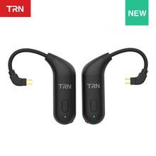 TRN BT20 bezprzewodowy zestaw słuchawkowy Bluetooth 5.0 słuchawki hi-fi 2PIN/złącze MMCX zaczep na ucho do Revonext TRN VX/TA1/V80/v90/BA8/V90S/V20
