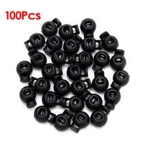 BMBY-100 x Черный шаровой шнур замки переключает круглые замки
