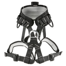 Professional Thicken Strong Seat Safety Belt Rock Climbing Bust Harness Rappelling Mountaineering Caving Rescue(China)