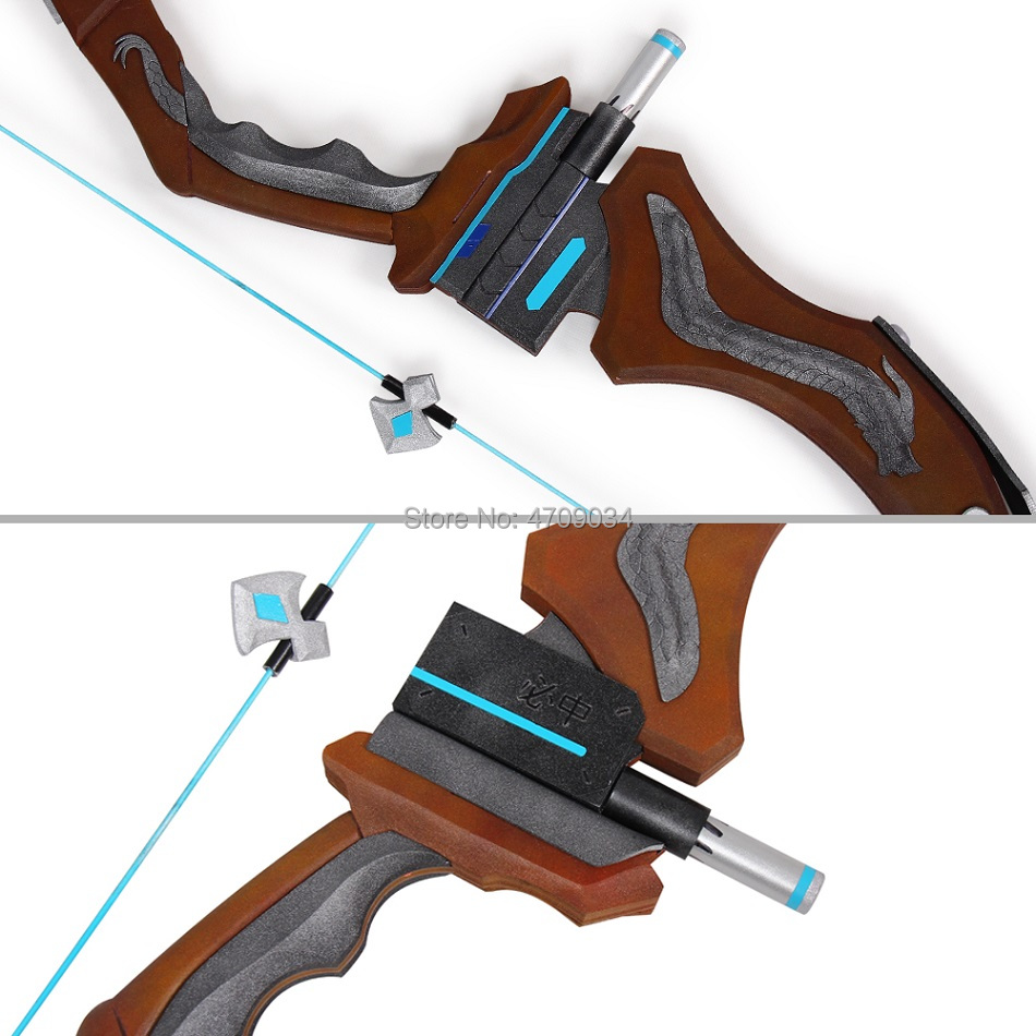 Overwatch Hanzo Scion Weapon Cosplay Replica Bow Prop 1