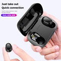 Drahtlose Ohrhörer Wasserdicht Leicht Durchführung L21 TWS Bluetooth Leichte Kopfhörer Teil Sport In-Ear-Kopfhörer mit Mic
