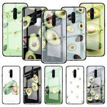 Avocado Fruits Glass Case For Oneplus 8