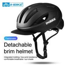 Inbike велосипедный шлем дышащий в форме съемные поля многофункциональный