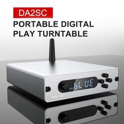 Bluetooth 5,0 HIFI Цифровой мощный u-диск ПК плеер с ЦАП аудио усилитель OPT COA выход bluetooth используется для усилителя