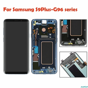 Оригинальный супер AMOLED для samsung Galaxy S9 Plus G965F G965U S9plus ЖК-дисплей сенсорный экран дигитайзер дефект черное пятно