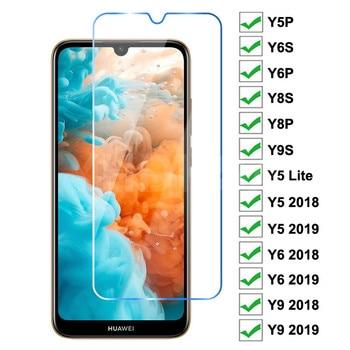 9H Tempered Glass For Huawei Y5P Y6P Y6S Y8S Y8P Y9S Y5 Lite Screen Protector Huawei Y5 Y6 Y9 Prime 2018 2019 Protective Glass