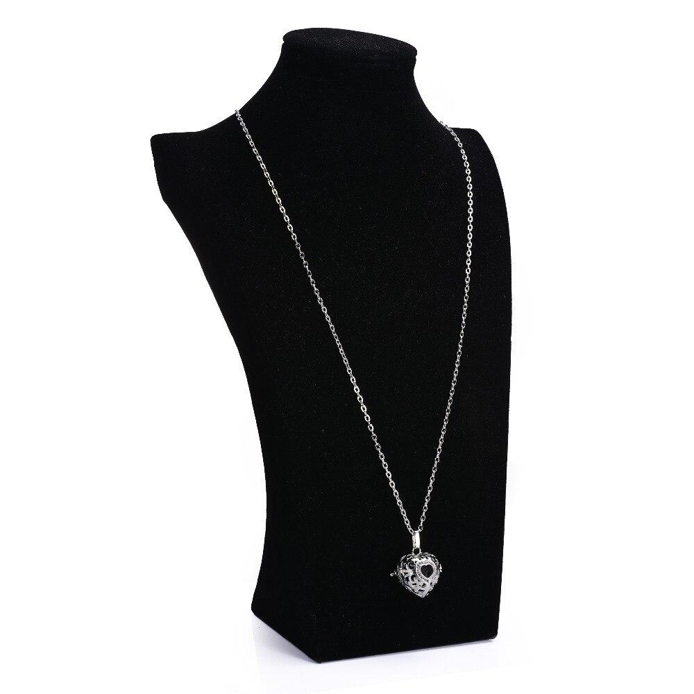 10 հատ 18 մմ սև լավայի բշտիկներ Բնական - Նորաձև զարդեր - Լուսանկար 5