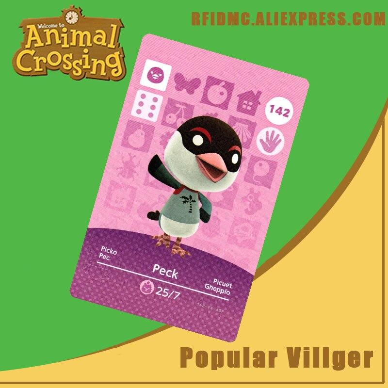 142 Peck Animal Crossing Card Amiibo For New Horizons