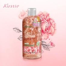 Kustie розовый женский гель для душа стойкий аромат гель для душа и ванной увлажняет и восполняет мягкую кожу освежающий для ванны и тела