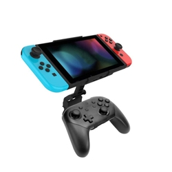 Kontroler NS Switch PRO składany uchwyt klipsa do konsoli Nintendo Switch/Switch Lite uchwyt do konsoli do gier