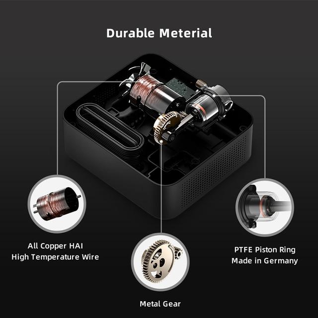 Original 70mai compresseur dair DC 12V numérique pneu gonfleur pompe à Air pour voiture moto pneu gonfleur pompe Auto pneu Pumb