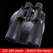 Borwolf 12 36 volte Alto Ingrandimento HD Professionale Zoom Binocolo 12 36X60 Telescopio Visione Della Luce di Notte