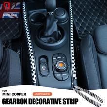 عالية الجودة السيارات والعتاد التحول صندوق الجانب لوحة الكسوة غطاء الزخرفية ملصقا ل ميني كوبر F60 F54 كونتري مان اكسسوارات السيارات