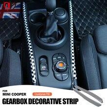 גבוהה באיכות האוטומטי Gear Shift תיבת צד פנל לקצץ דקורטיבי כיסוי מדבקה עבור מיני קופר F60 F54 Countryman אביזרי רכב