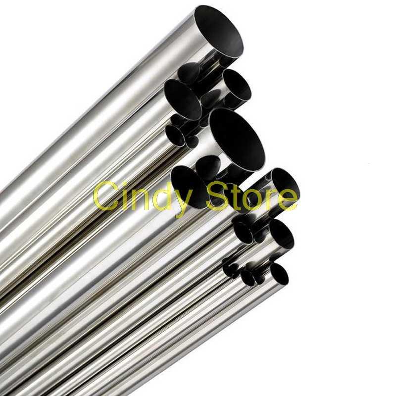 6063 Aluminum Round Tube 300mm Length 14mm OD 12mm Inner Dia Seamless Tube 3 Pcs