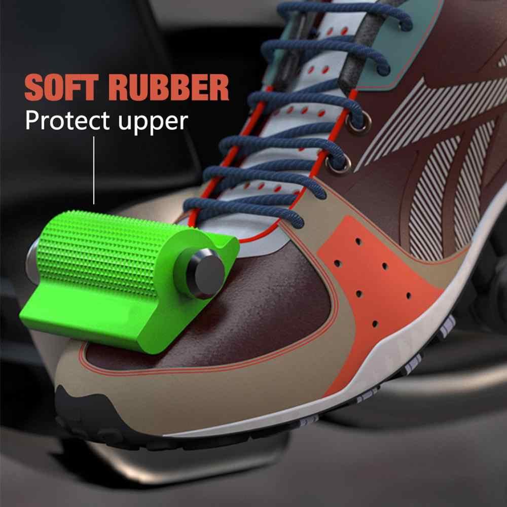 Evrensel motosiklet vites değiştirme kolu pedalı kauçuk kapak ayakkabı koruyucu ayak Peg ayak jel