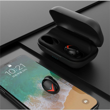 Buy Bluetooth Earphones Sweatproof Wireless Headsets Stereo Earbuds with Case Noise Reduction directly from merchant!