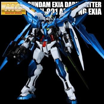 BANDAI MG 1/100 PPGN-001 Gundam Amazing Exia DARK MATTER Metal Colored Dark Matter Model Gift Action Toy Figures 1